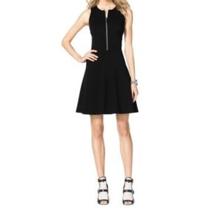 Michael Kors Zip Front Mini Dress Like New- Sz 2